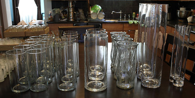 Lot of 28 glass vases! :  wedding reception vases I QchVtpq S